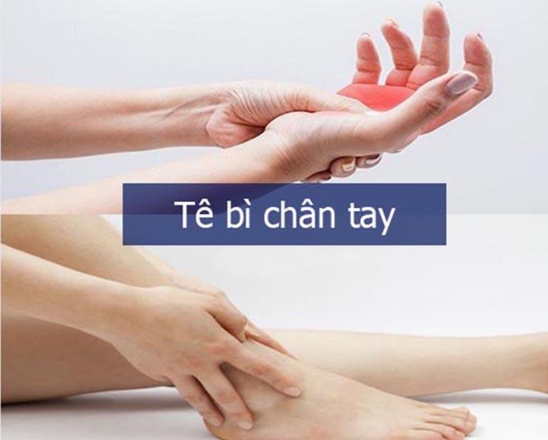Tê bì chân tay là bệnh gì?