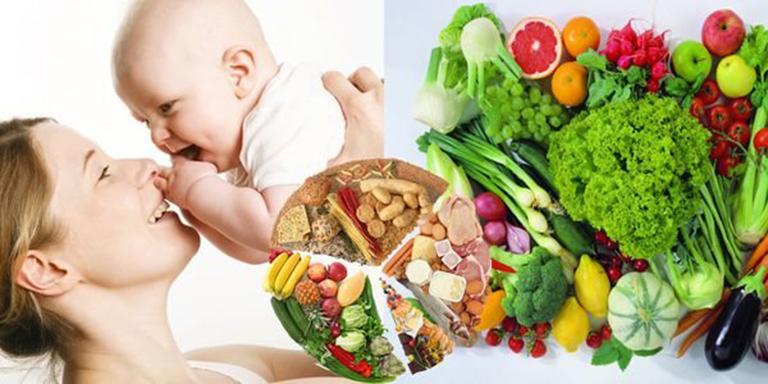 Thực phẩm tốt cho cả mẹ và bé