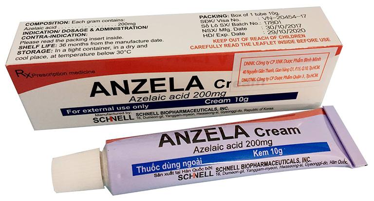 Thuốc Acid Azelaic dùng để điều trị nhọt ở mức độ trùng bình