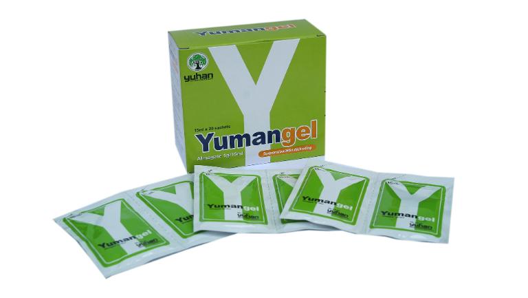 Thuốc Yumangel là thuốc điều trị bệnh viêm loét dạ dày, trào ngược axit, viêm loét tá tràng,... Thuốc còn được gọi là thuốc chữa dạ dày chữ Y.