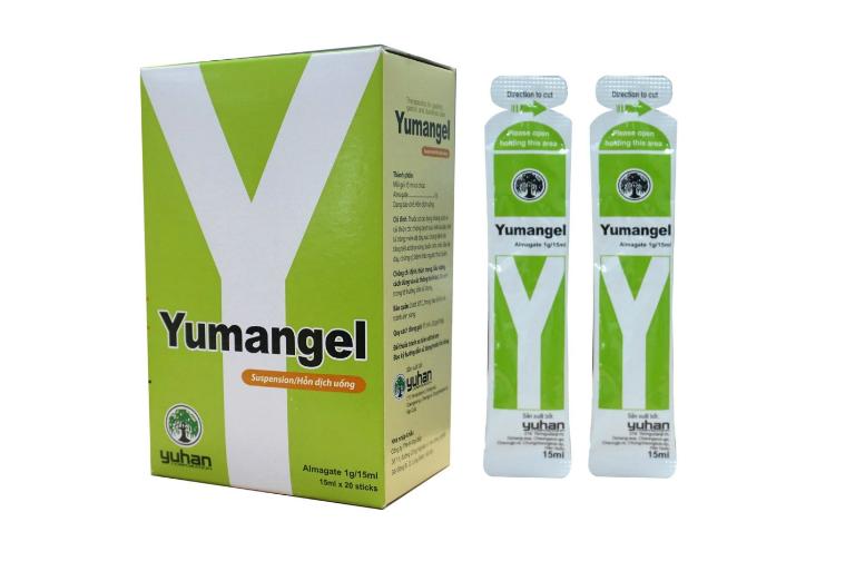 Mỗi hộp thuốc Yumangel có giá bán là 90.000 VNĐ.