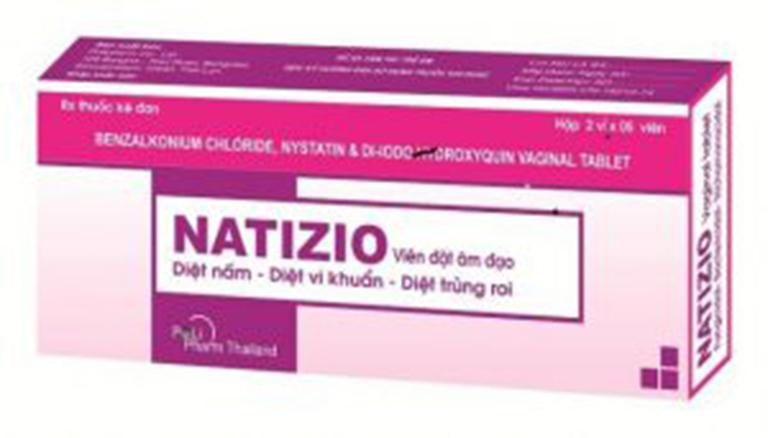 Thuốc Natizio có tác dụng tiêu diệt vi khuẩn gây bệnh tại chỗ