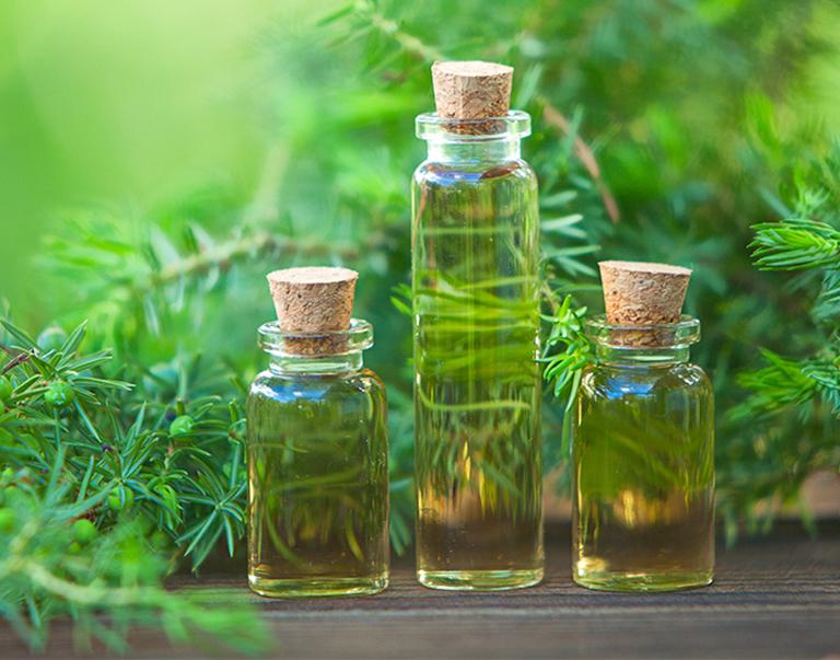 Tinh dầu tràm trà giúp ngăn chặn nổi mụn ngứa do vi khuẩn và nấm