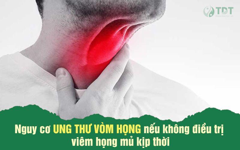 Biến chứng nguy hiểm của viêm họng mủ