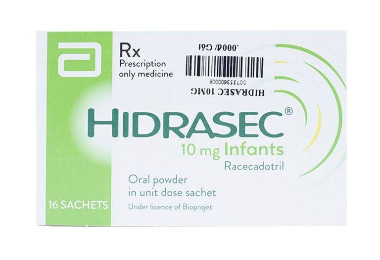 Thuốc Racecadotril còn có những tên biệt dược khác như Hidrasec, Resecadot,...