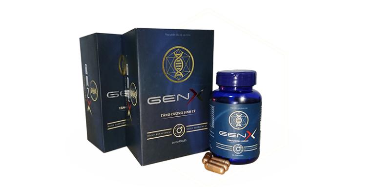 Gen X kích thích sản xuất testosterone, giúp nam giới cải thiện vấn đề sinh lý, tăng cường sinh lực,...