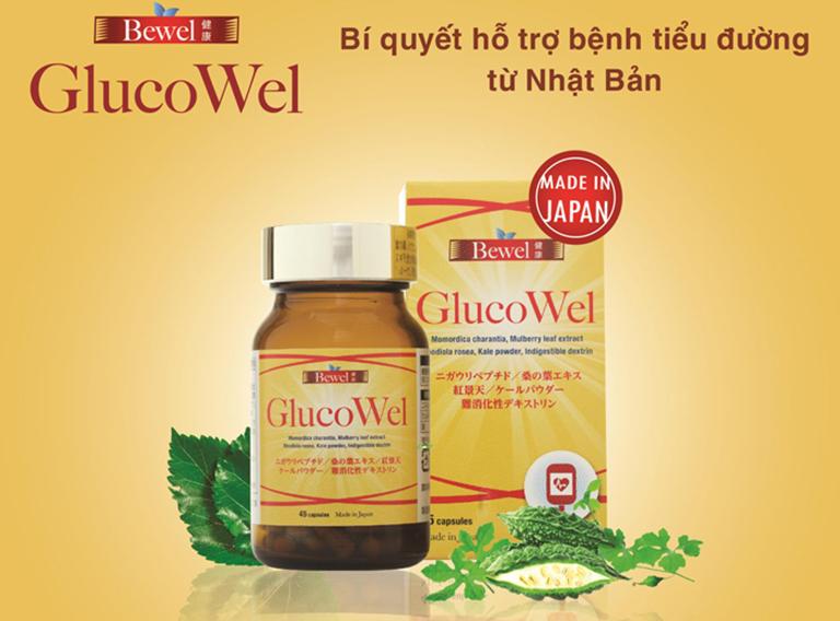 Waki Bewel Glucowel có tác dụng điều hòa lượng đường trong máu và hỗ trợ điều trị bệnh tiểu đường