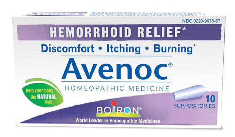 Thuốc đặt Avenoc có tác dụng điều trị bệnh trĩ từ bên trong