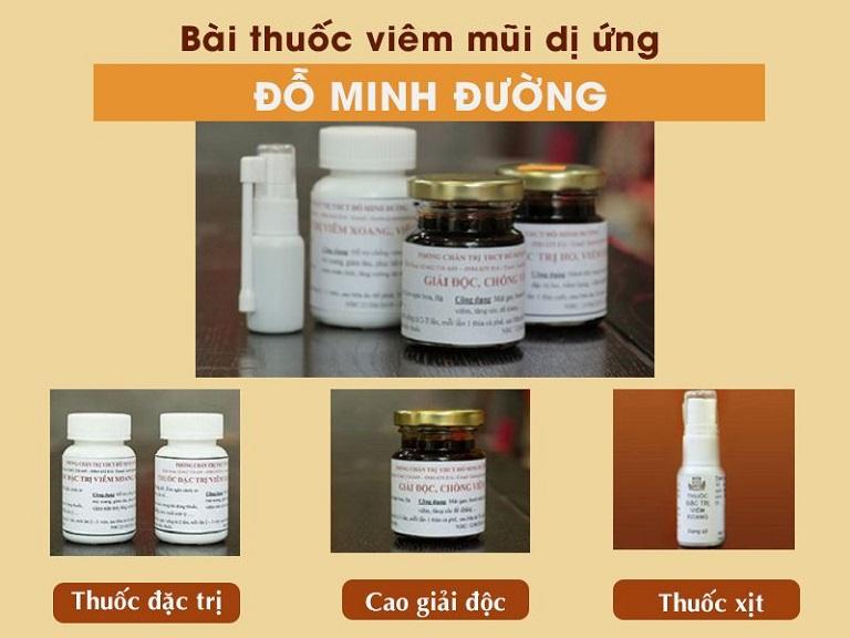 Bài thuốc đặc trị bệnh viêm mũi dị ứng, viêm xoang Đỗ Minh Đường