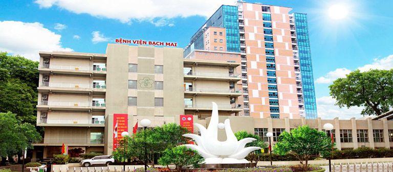 Bệnh viện Bạch Mai là một trong những đơn vị đầu ngành về khám chữa bệnh xương khớp