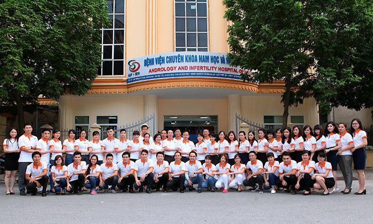 Bệnh viện nam học và hiếm muộn Hà Nội với chuyên khoa sâu điều trị một số bệnh về nam giới