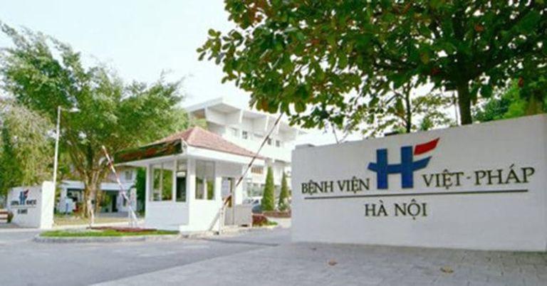 Bệnh viện Việt - Pháp nhận được sự tin tưởng của nhiều bệnh nhân do do sự chuyên nghiệp của bác sĩ