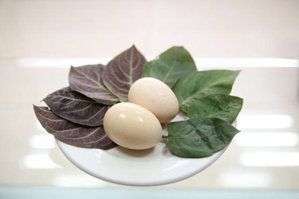 bị tiêu chảy nên ăn cháo trứng lá mơ