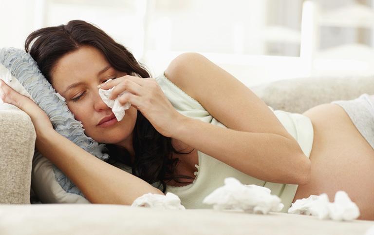 viêm xoang khi mang thai 3 tháng đầu