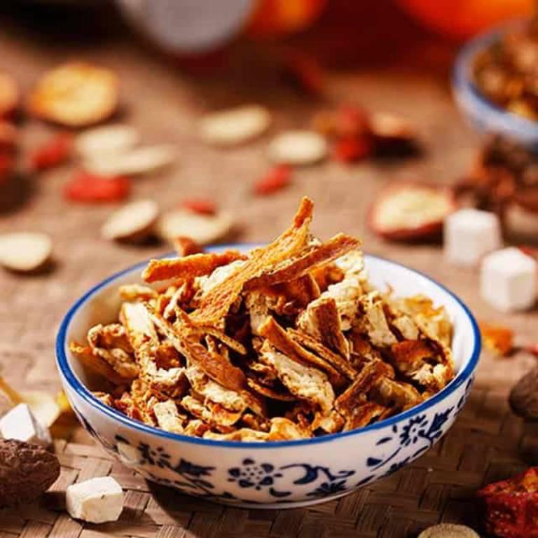 Trần bì, một vị thuốc được sử dụng nhiều trong Đông y