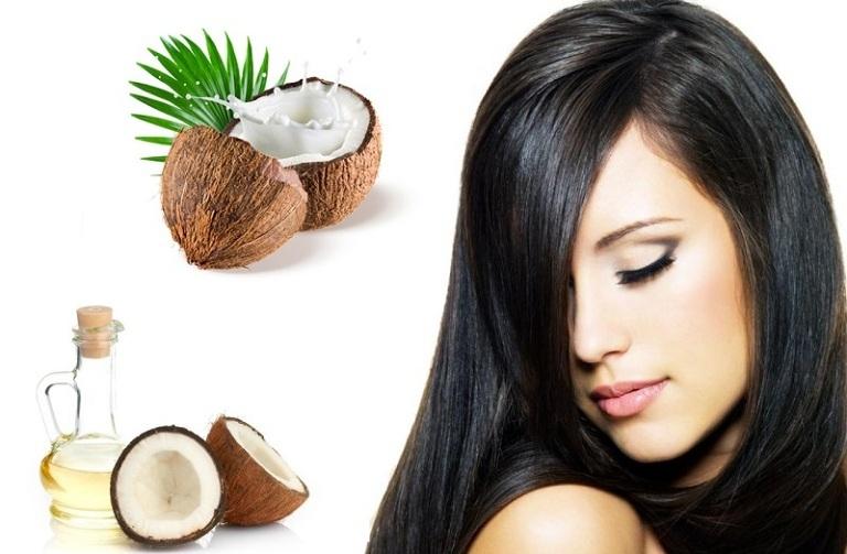 Kết quả hình ảnh cho Làm tóc dài nhanh bằng dầu dừa