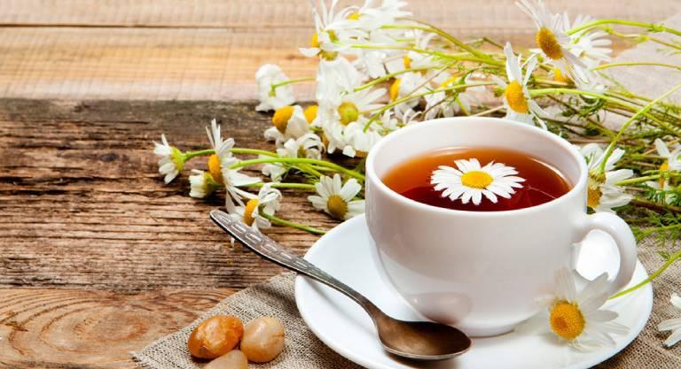 Trà hoa cúc hỗ trợ trị tiêu chảy tốt