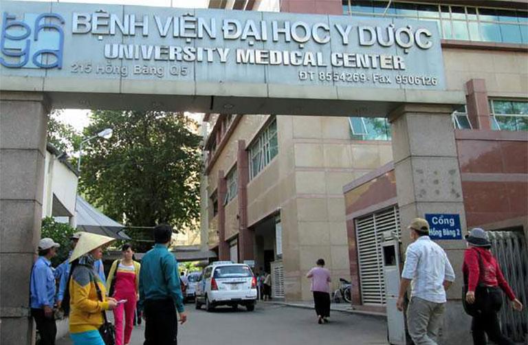 chữa bệnh trĩ ở bệnh viện đại học y dược