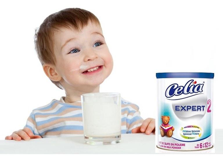 Sữa Celia AD được điều chỉnh lượng đường lactose giúp bé củng cố và ổn định lại hệ tiêu hóa