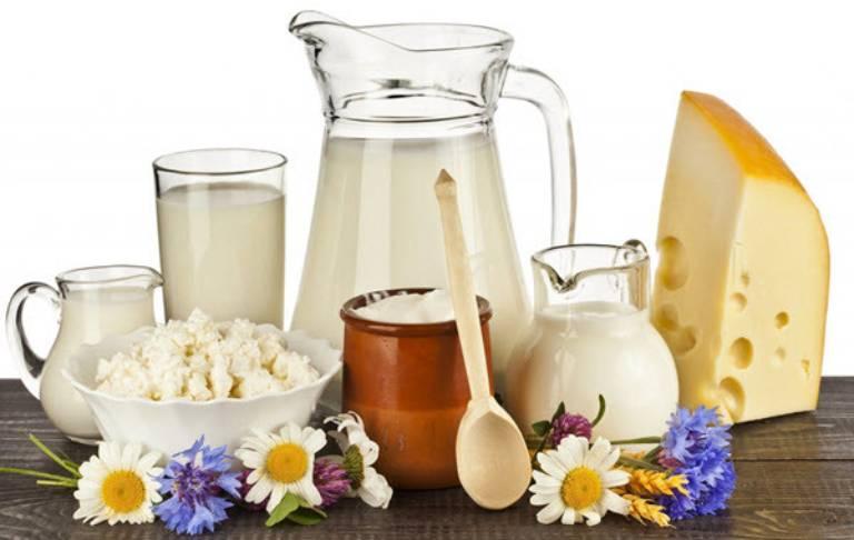 Không sử dụng sữa và các chế phẩm từ sữa trừ sữa chua