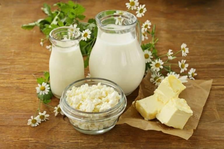 Tình trạng này có thể xảy ra sau khi sử dụng sữa hoặc các sản phẩm làm từ sữa