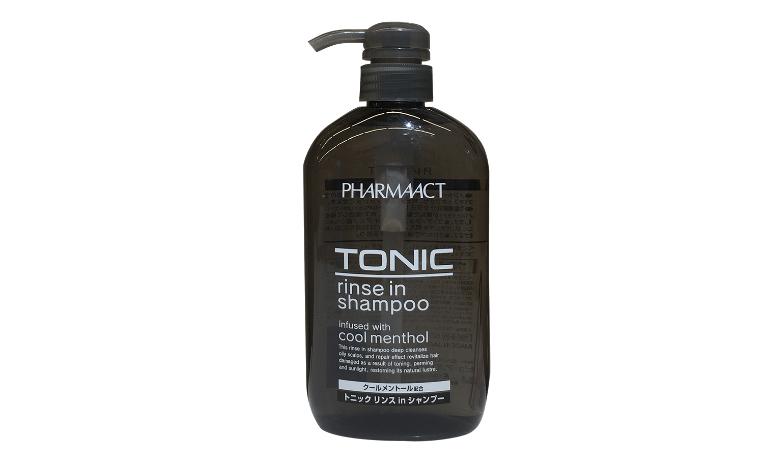 Dầu gội Tonic có công dụng ngăn rụng tóc ở nam giới, loại sạch gàu,... được sản xuất tại Nhật Bản.