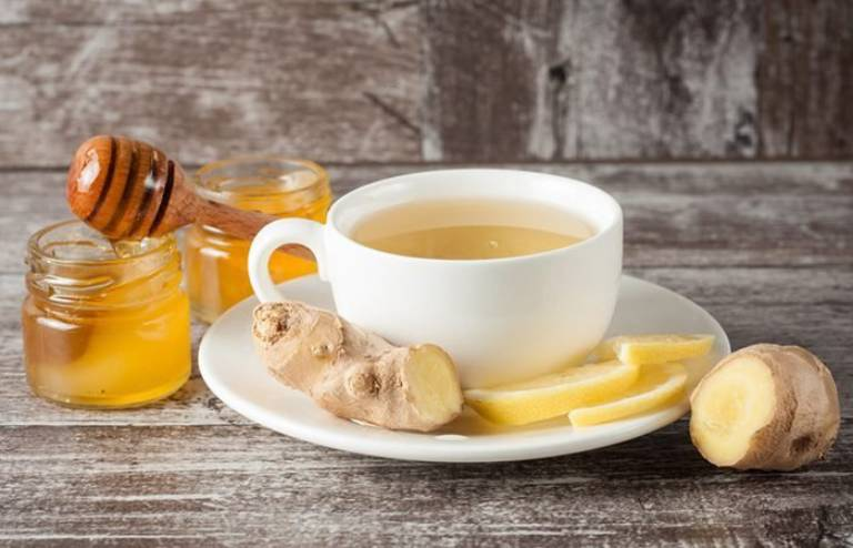 Với trường hợp đau quặn bụng do rối loạn tiêu hóa, có thể sử dụng trà gừng để giảm đau