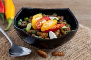 Không ăn quá nhiều nhộng tằm để tránh ngộ độc