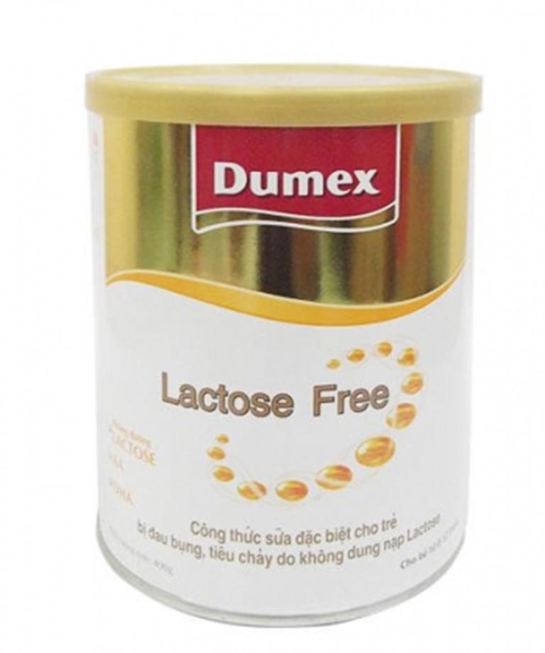 Sữa Dumex Lactose Free giúp làm giảm các triệu chứng không dung nạp Lactose  ở trẻ