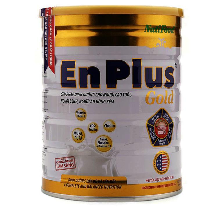 Nutifood Enplus Gold được sản xuất với công thức đột phá dinh dưỡng, rất tốt cho sức khỏe người già