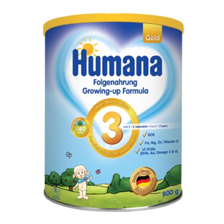 Sữa Humana giúp hỗ trợ điều trị triệu chứng tiêu chảy, cung cấp cho bé các loại dưỡng chất quan trọng