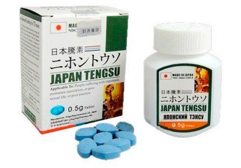 Thuốc cường dương Japan Tengsu mang lại hiệu quả rất tốt trong việc cải hiện sinh lý nam giới