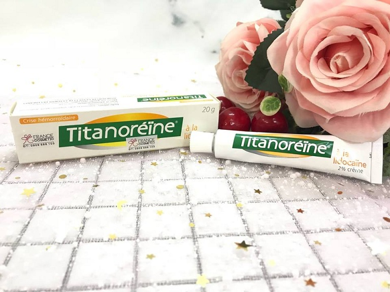 Kem bôi trĩ ngoại Titanoreine
