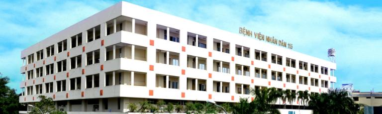 Bệnh viện Nhân Dân 115 có dịch vụ khám, kiểm tra loãng xương.
