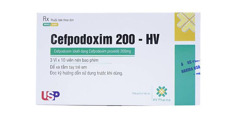 kháng sinh trị viêm xoang