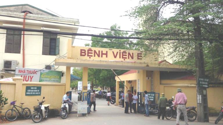 Khoa xương khớp Bệnh viện E là một trong những địa chỉ khám và chữa bệnh xương khớp uy tín nhất nhì tại Hà Nội.