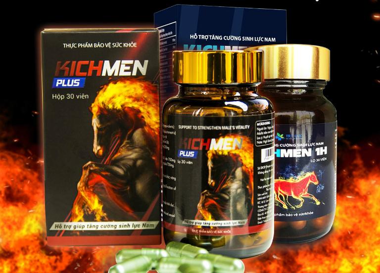 Kichmen Plus có giá bán 790.000 VNĐ/hộp (30 viên).