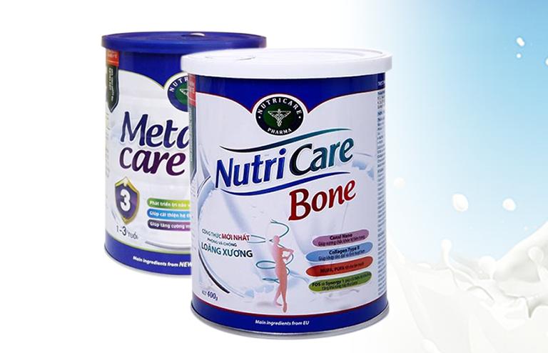 Sữa Nutricare Bone được sản xuất cho người bị loãng xương và cần hỗ trợ chức năng xương khớp