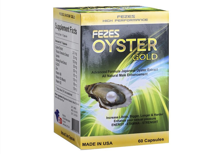 Oyster Gold là sản phẩm tăng cường sinh lý được chiết xuất từ tinh chất quý của con hàu