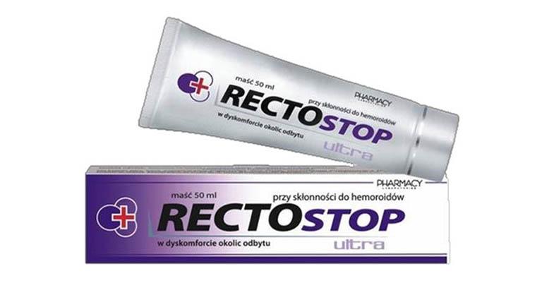 Thuốc bôi Rectostop có tác dụng phòng ngừa và hỗ trợ điều trị triệu chứng của bệnh trĩ