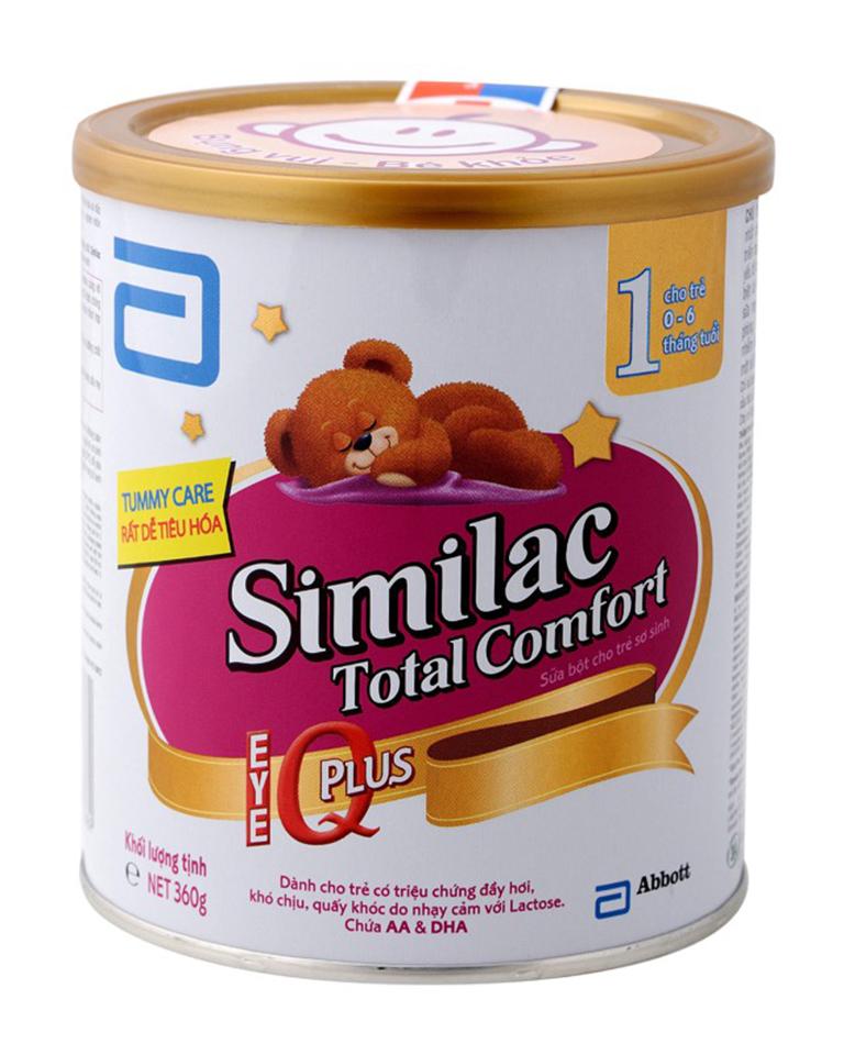 Simlac Gain Plus Total Confort được chuyên gia khuyên dùng cho trẻ kém dung nạp Lactose