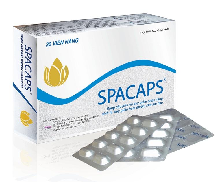 thực phẩm chức năng tăng cường sinh lý ở phụ nữ Spacaps