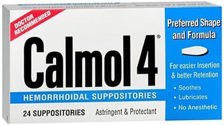 Thuốc đặt chữa bệnh trĩ Calmol