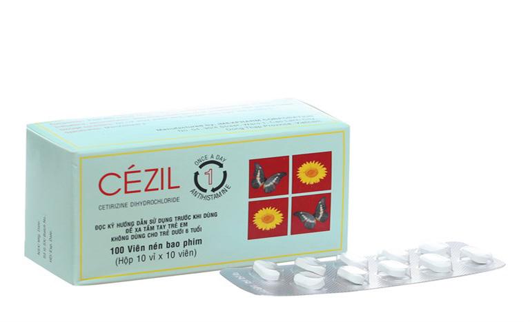 Thuốc dị ứng celzil