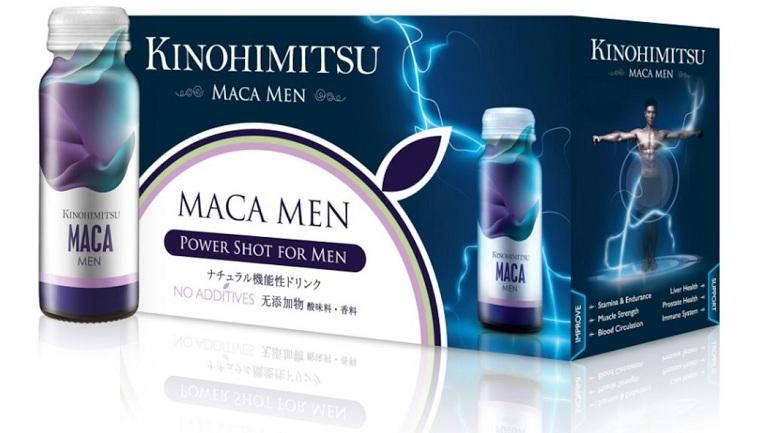 thuốc tăng cường sinh lý Nhật Bản Kinohimitsu Maca Men