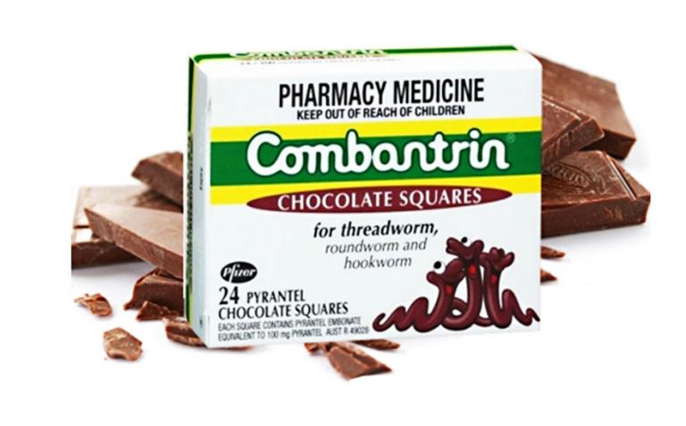 Thuốc Combantrin là một trong những loại thuốc tẩy giun tốt dành cho trẻ nhỏ.