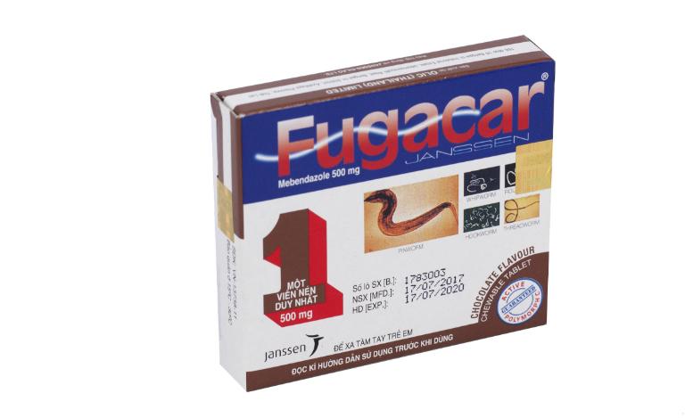 Thuốc Fugacar là một trong những loại thuốc tẩy giun tốt, dành cho trẻ từ 2 tuổi trở lên.