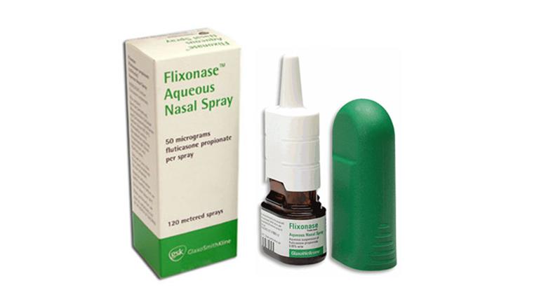Thuốc xịt mũi Flixonase điều trị viêm mũi dị ứng được khá nhiều người tin dùng
