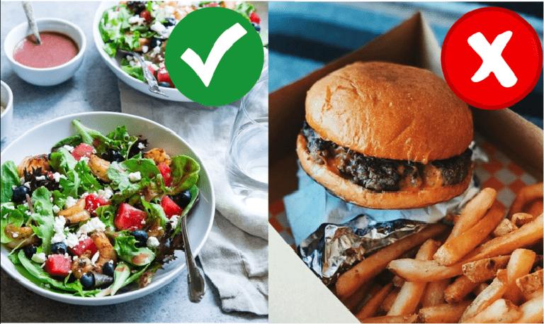Chế độ ăn uống của người bị tiểu đường nên tăng cường bổ sung rau xanh và hạn chế đồ ăn dầu mỡ