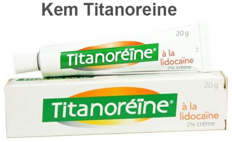 Thuốc bôi trĩ Titanoreine được đặt chế sử dụng cho trẻ em trên 12